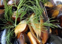mussel-meat-seafood-with-herbs